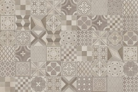 ITALGRANITI - SQUARE  Pattern mix C Decoro 60x60 cm