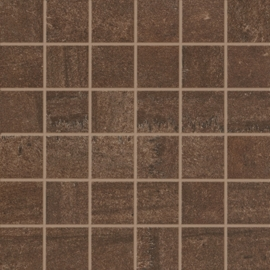 Sintesi Fusion Brown Mosaico 30x30 cm