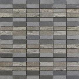 Basalt mozaiek 30,5x30,5 cm per matje