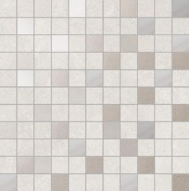 White adore mozaiek 30,5x30,5 cm per matje