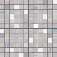 Gris melange mosaico 30x30 cm per matje