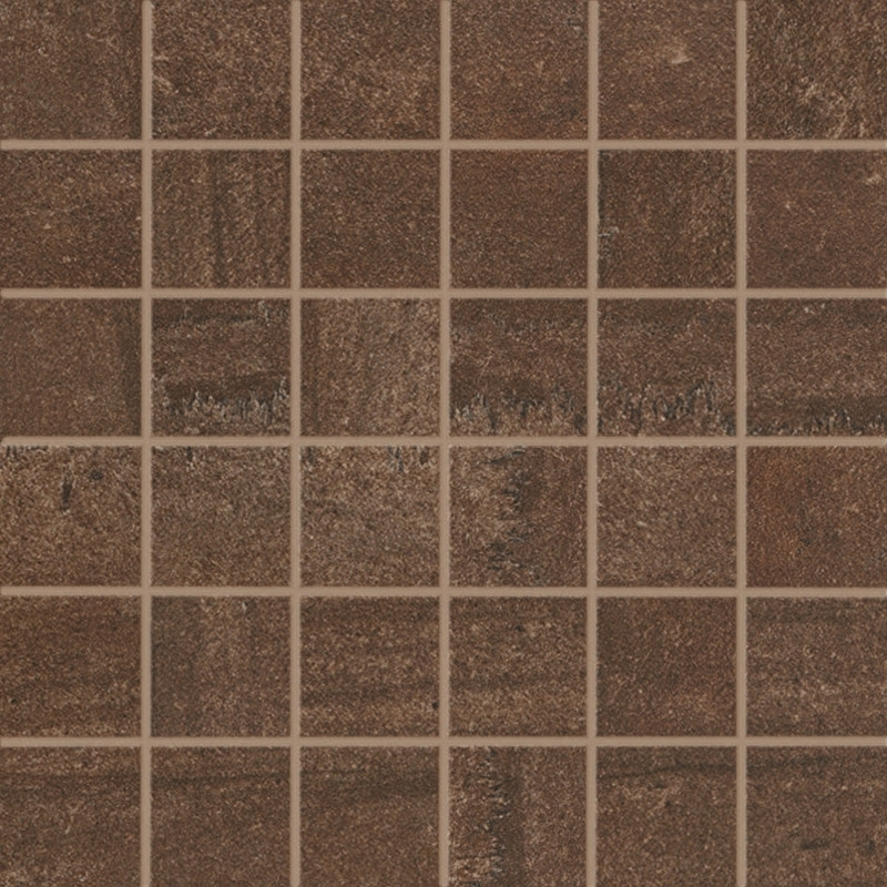 Sintesi Fusion Brown Mosaico 30x30 cm