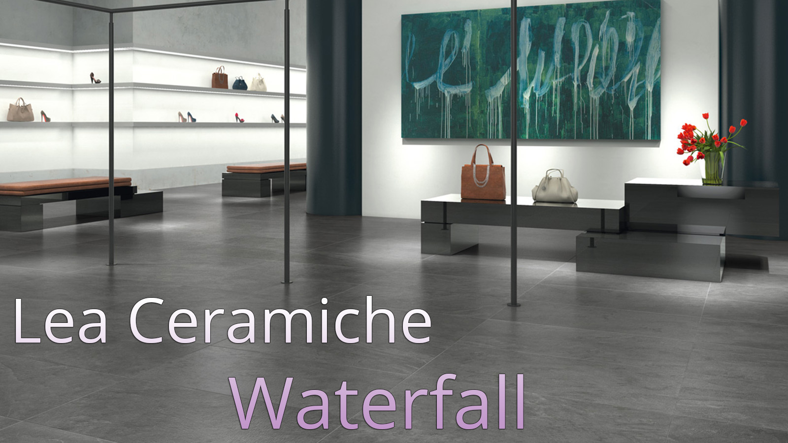 Lea Ceramiche waterfall - Gray