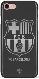 FC Barcelona hoesje iPhone 7 softcase zwart