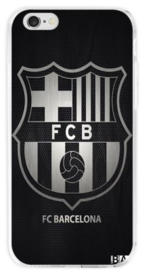 FC Barcelona hoesje iPhone 6 Plus softcase zwart