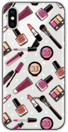 Make-up hoesje iPhone X softcase