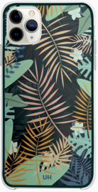 Jungle patroon hoesje iPhone 12 Pro softcase