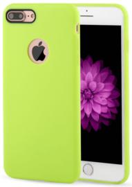Geel hoesje iPhone 7 Plus softcase
