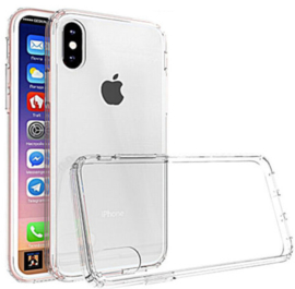 Transparant hoesje iPhone X hardcase