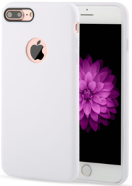 Wit hoesje iPhone 7 Plus softcase