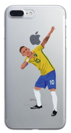 Neymar voetbal hoesje iPhone 8 plus hardcase