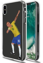 Neymar voetbal hoesje iPhone X softcase