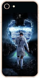 Ronaldo champions league voetbal hoesje iPhone 8 softcase