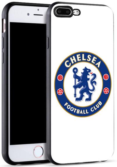Chelsea voetbal hoesje iPhone 8 Plus softcase