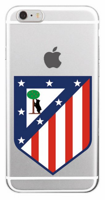 Atletico Madrid voetbal hoesje iPhone 6 / 6s softcase