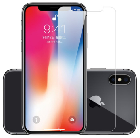 Screenprotector doorzichtig iPhone X