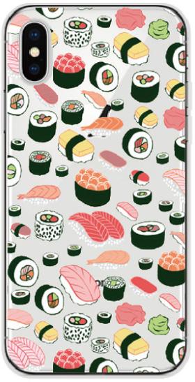 Sushi hoesje iPhone X softcase