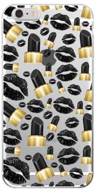 Black Lips telefoonhoesje Samsung Galaxy S8