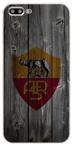 AS Roma voetbal hoesje iPhone 7 Plus softcase