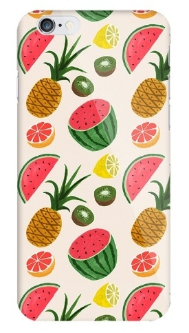 iPhone 5c hoesje zomers fruit Softcase
