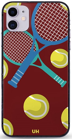 Tennis hoesje iPhone 12 softcase