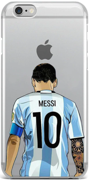 Messi hoesje iPhone 6 & 6s