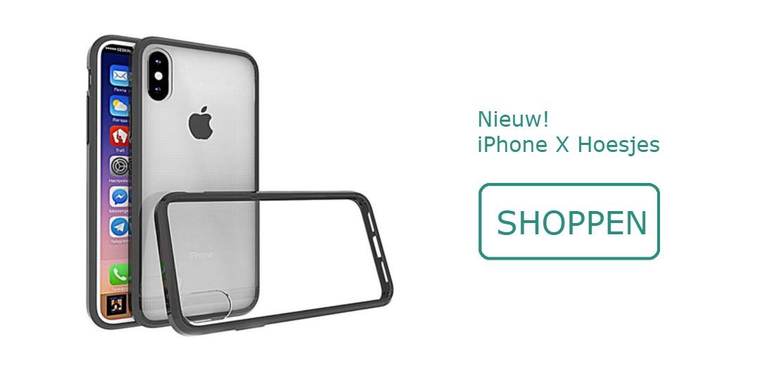 Unieke iPhone X hoesjes