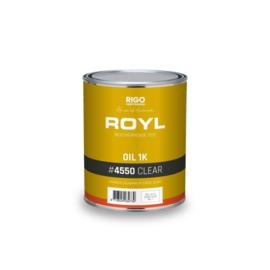 ROYL Oil 1K Clear 1 liter (4550) voorheen Aquamarijn Corcol