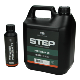 STEP Parketlak 2K 6540 Glans 4 liter