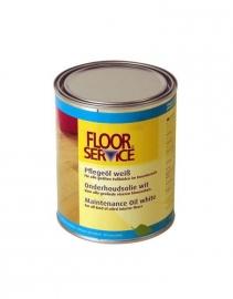 Floor Service Color Onderhoudsolie wit 1 liter
