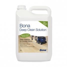 Bona Deep Clean Solution 5 liter , voor gelakte en geoliede houten vloeren