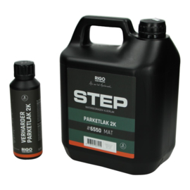 STEP Parketlak 2K 6550 Mat 4 liter