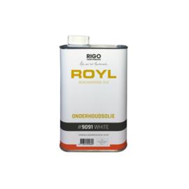 ROYL onderhoudsolie WIT 9091   1 liter