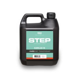 STEP Kurklak 1K Mat 6450 Transparant 4 liter