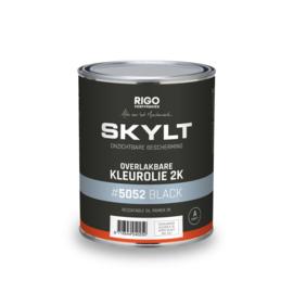 SKYLT Overlakbare Kleurolie 2K Black 5052  1 liter