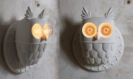 Karman TI.VEDO wandlamp uil