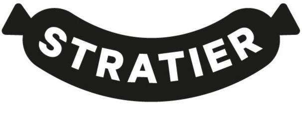 logo stratier uitgeverij