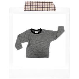 Grey sprinkles Sweater