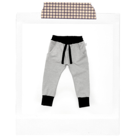 Grey & Black Joggers