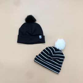 POMPOM Sloughy Beanies