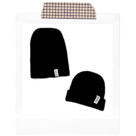 No Colours Beanie Black