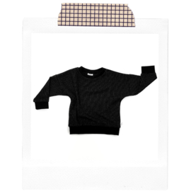 Pinstripe Sweater
