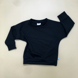 Zwart basic Sweater