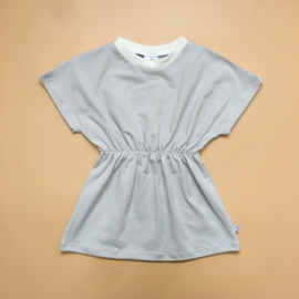 Light Grey basic Elastic Dress