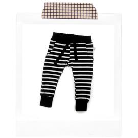 Black stripes Joggers