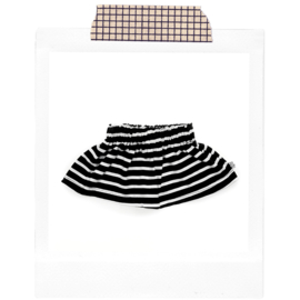 Black stripes Skirt