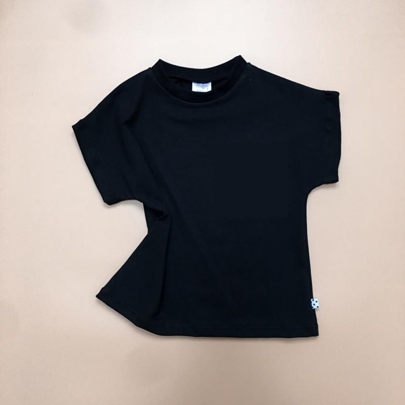 T-shirt Zwart basic