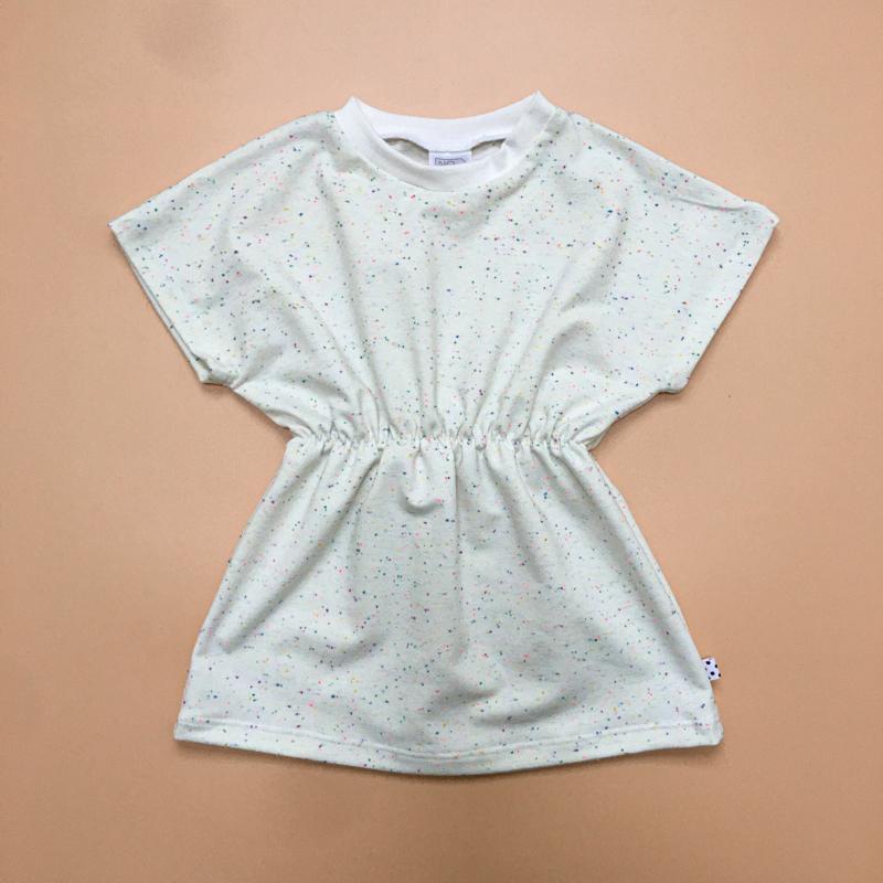 Vanilla multi colour Elastic Dress