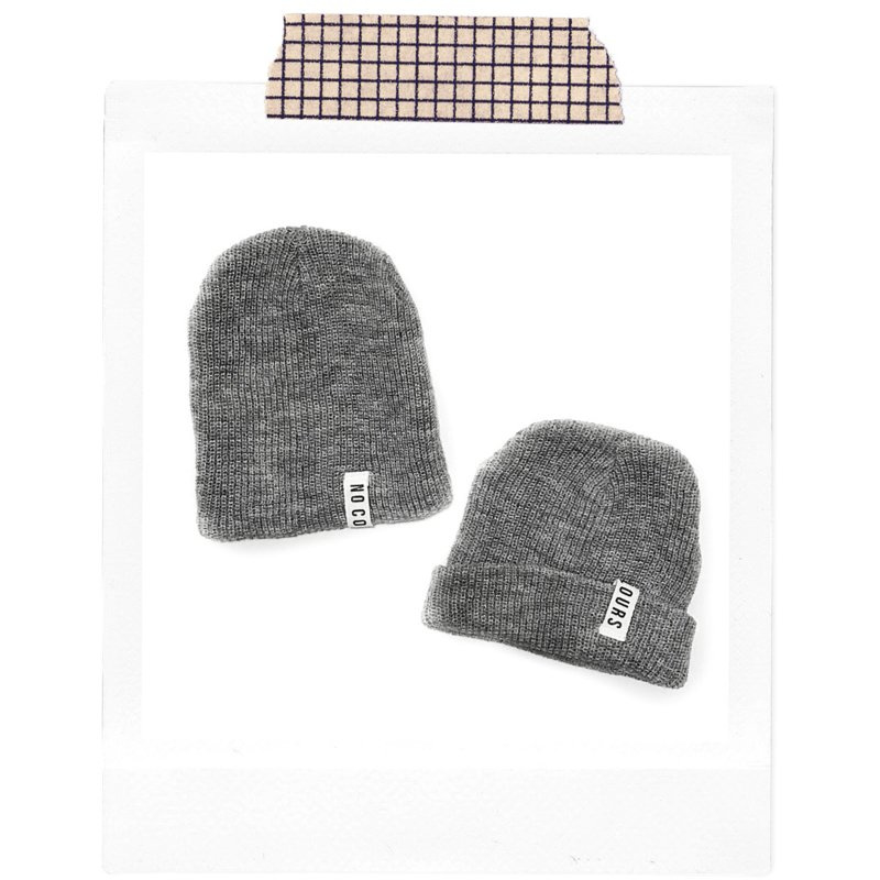 No Colours Beanie Grey