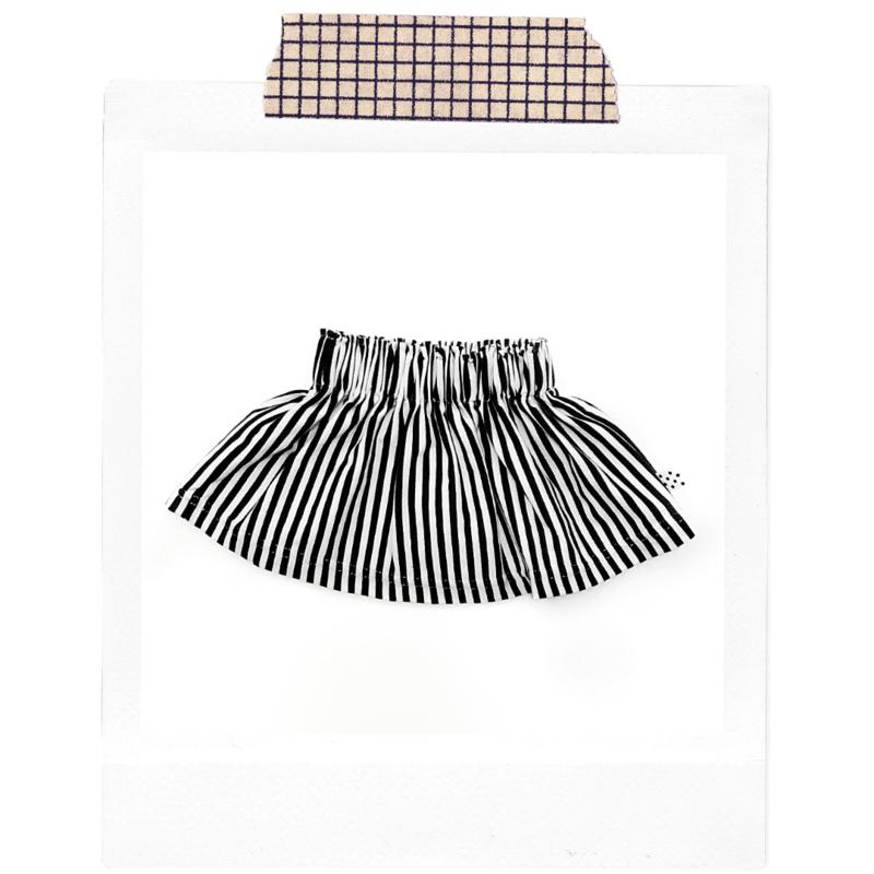 Basic stripes Skirt